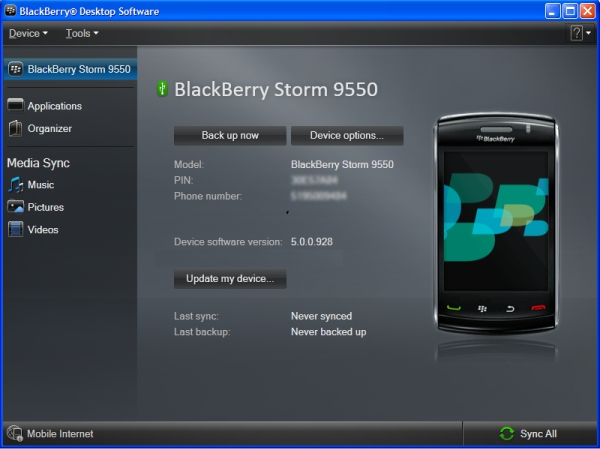 Add and remove BlackBerry smartphone apps
