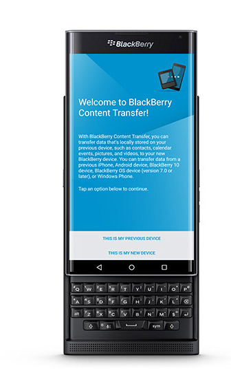 Switch From A Blackberry 10 Device To Priv